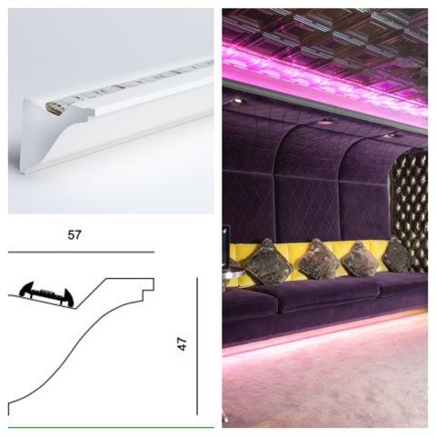 Cornice Feature Lighting Sun Light Solutions