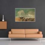 Welltherm Sofa-tan-velvet