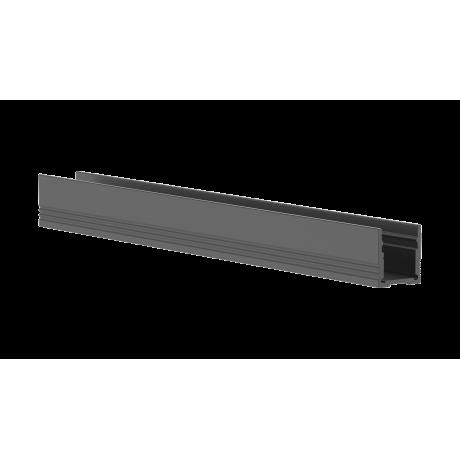 aluminium-profile black-1m