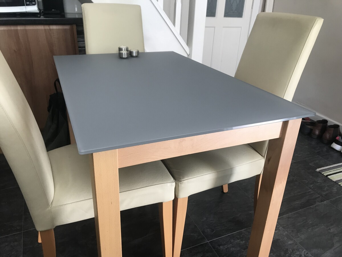Satin Grey Table Top 10mm